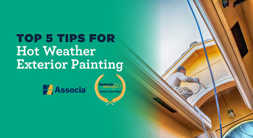 Partner Post: Top 5 Tips for Hot Weather Exterior Painting