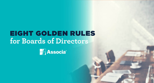 Eight Golden Rules for Boards of Directors