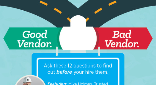 Good Vendor. Bad Vendor. Ask These 12 Questions to Find Out before Your Hire Them