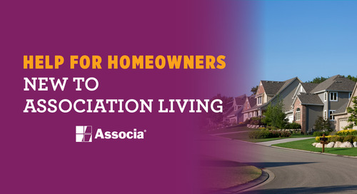 Help! For Homeowners New to Association Living