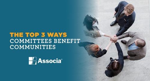 The Top 3 Ways Committees Benefit Communities