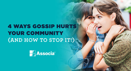 4 Ways Gossip Hurts Your Community (and How to Stop it!)