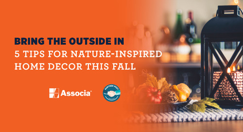 Partner Post: Bring the Outside In: 5 Tips for Nature-Inspired Home Decor This Fall