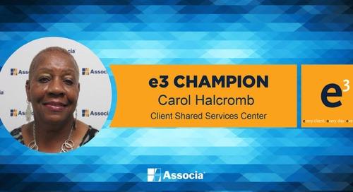 e3 Champion: Diligent Dedication to Customer Needs