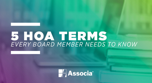 5 HOA Terms Every Board Member Needs to Know