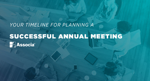 Your Timeline for Planning a Successful Annual Meeting