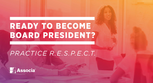 Ready to Become Board President? Practice R.E.S.P.E.C.T.