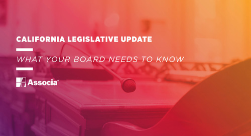 California Legislative Update: What Your Board Needs to Know