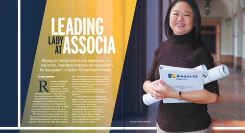 Associa Hawaii President Pauli Wong Featured in Building Management Hawaii Magazine