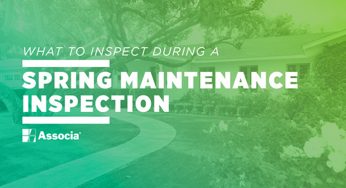 What to Inspect During a Spring Maintenance Inspection