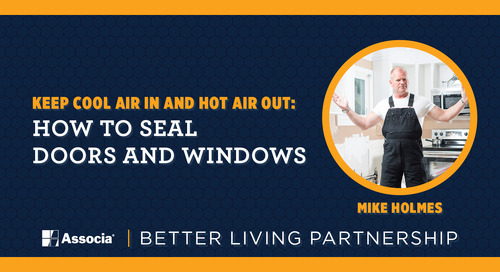 Keep Cool Air In and Hot Air Out: How to Seal Doors and Windows
