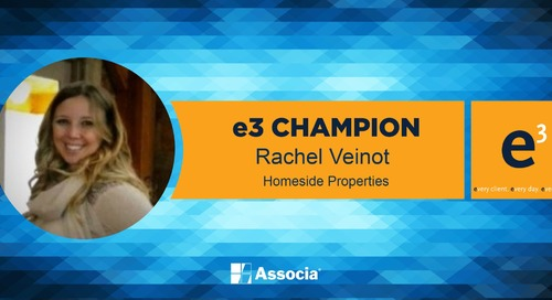 e3 Champion: Providing Data Beyond Her Duties