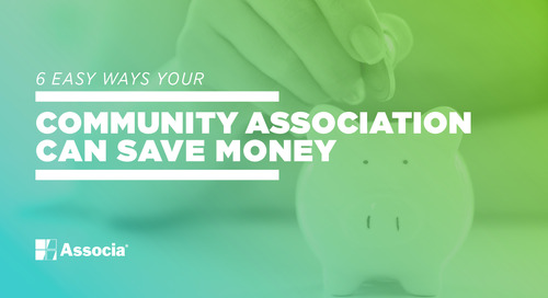 6 Easy Ways Your Community Association Can Save Money