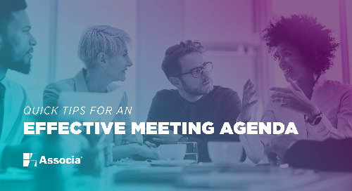 Quick Tips for an Effective Meeting Agenda