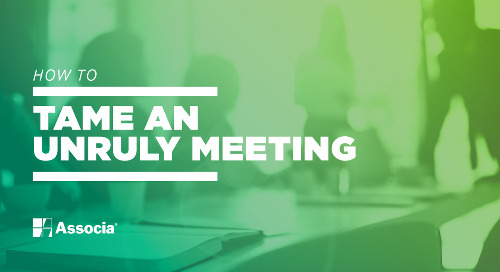 How to Tame an Unruly Meeting