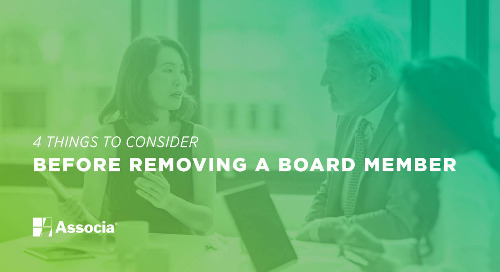 4 Things to Consider Before Removing a Board Member