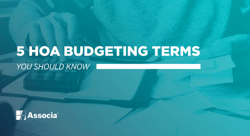 5 HOA Budgeting Terms You Should Know