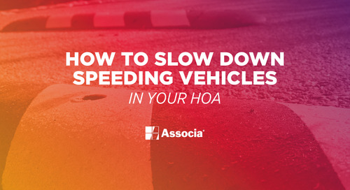 How to Slow Down Speeding Vehicles in Your HOA