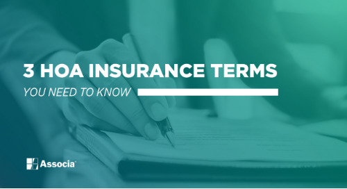 3 HOA Insurance Terms You Need to Know