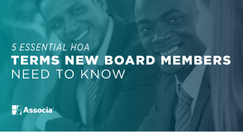 5 Essential HOA Terms New Board Members Need to Know