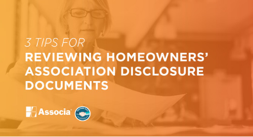 Partner Post: 3 Tips for Reviewing Homeowners' Association Disclosure Documents