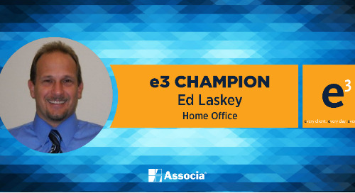 e3 Champion: True Dedication to the Well-Being of the Associa Family