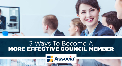 3 Ways to Become a More Effective Council Member