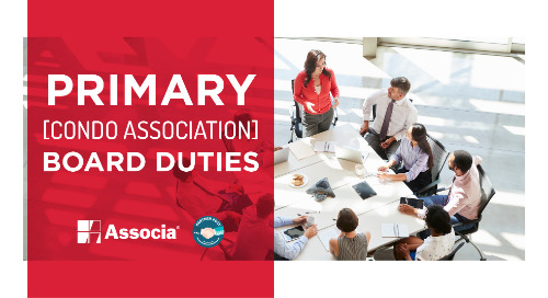 Partner Post: Primary Condo Association Board Duties