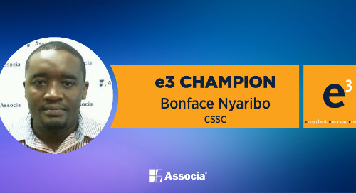 e3 Champion: A Diligent and Thorough Employee