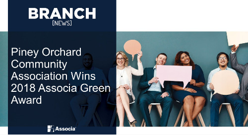 Piney Orchard Community Association Wins 2018 Associa Green Award