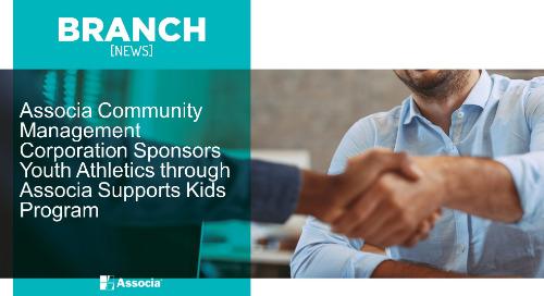 Associa Community Management Corporation Sponsors Youth Athletics through Associa Supports Kids Program