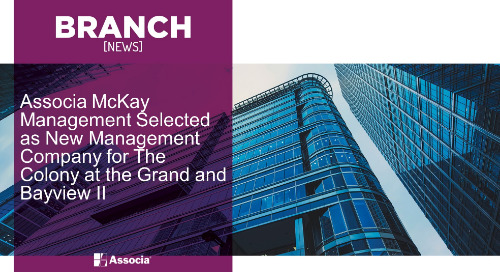 Associa McKay Management Selected as New Management Company for The Colony at the Grand and Bayview II