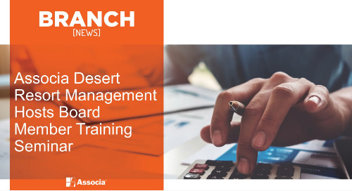 Associa Desert Resort Management Hosts Board Member Training Seminar