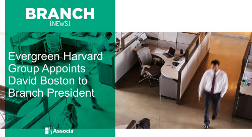 Evergreen Harvard Group Appoints David Boston to Branch President