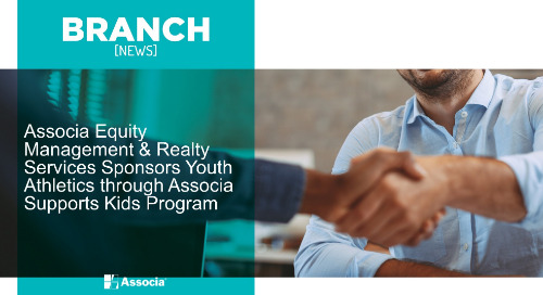 Associa Equity Management & Realty Services Sponsors Youth Athletics through Associa Supports Kids Program