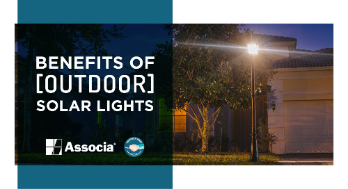 Partner Post: Benefits of Outdoor Solar Lights