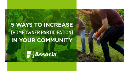 5 Ways to Increase Homeowner Participation in Your Community