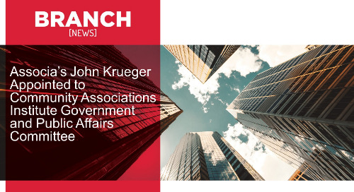 Associa's John Krueger Appointed to Community Associations Institute Government and Public Affairs Committee