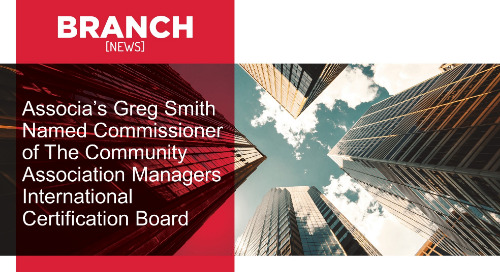 Associa's Greg Smith Named Commissioner of The Community Association Managers International Certification Board