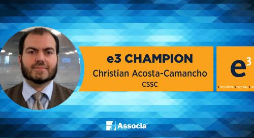 e3 Champion: An Excellent Role Model