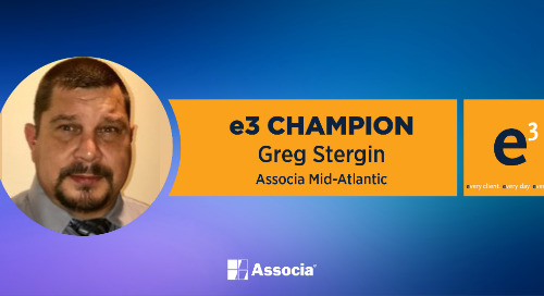 e3 Champion: Setting an Example for the Associa Family
