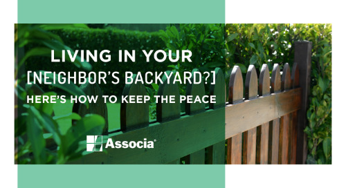 Living in Your Neighbor's Backyard? Here's How to Keep the Peace