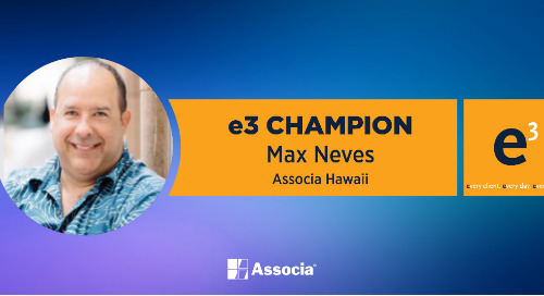 e3 Champion: A True Ambassador of All Things Associa