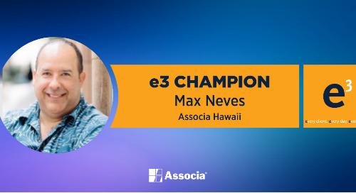 e3 Champion: A True Ambassador of All Things Associa