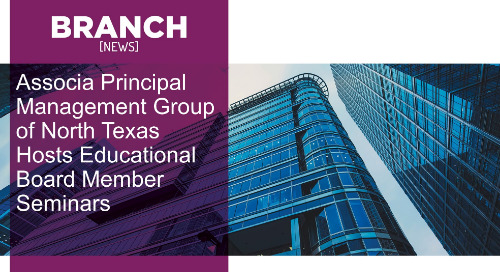 Associa Principal Management Group of North Texas Hosts Educational Board Member Seminars