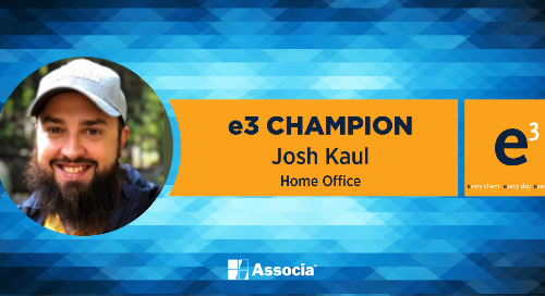 e3 Champion: Serving Associa Well with Creative Talents