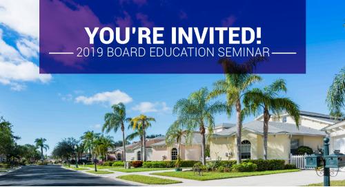 2019 Board Member Education