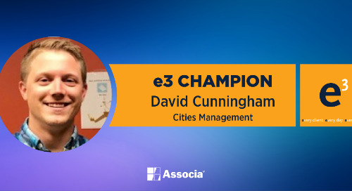 e3 Champion: Thoroughness, Attention to Detail & Excellent Collaboration