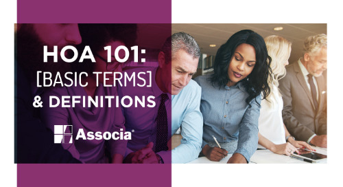 HOA 101: Basic Terms & Definitions