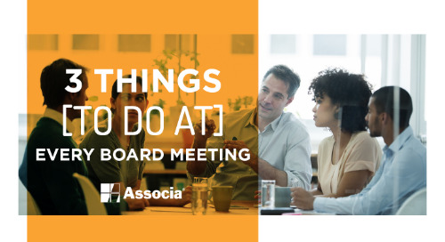3 Things to Do at Every Board Meeting